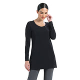 Clara Sunwoo Scoop Neck Tunic in Black - T23L1-BLK