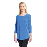 Clara Sunwoo  High-Low Tunic in periwinkle - T30-PER