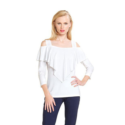 Clara Sunwoo Tunic - in White- T84-WHT