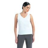 Clara Sunwoo 2 in 1 Reversible Tank Top in White - TKY-WHT