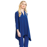 New Color Just In! Narrow V Tunic in Cobalt - TU85-COB