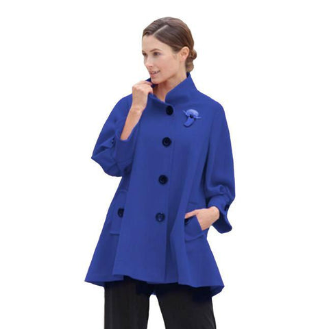 IC Collection Jacket in Cobalt - 5241J-COB - Size S Only