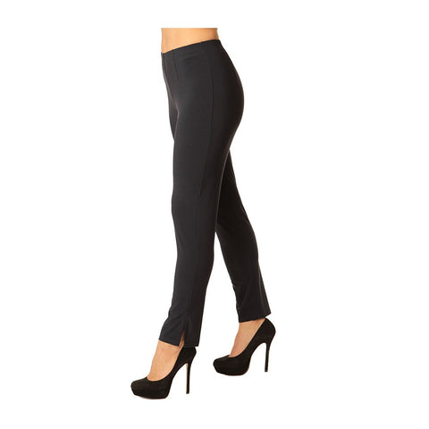 Alisha D. Best Selling Travel Wear Pencil Pant in Black - ADT25-BLK