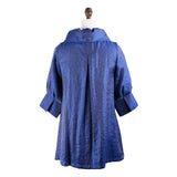 Damee NY Solid Signature Swing Jacket in Royal Blue  200-RB