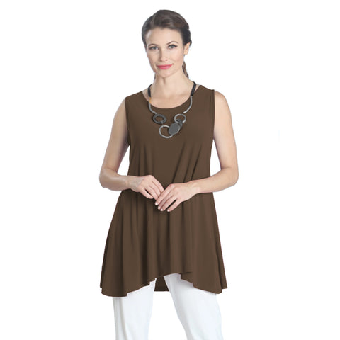 IC Collection Extender Length Tank in Brown - 6822T-BRN