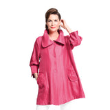 "Damee NY Signature ""Swing Jacket"" in Fuchsia  200 -FS"