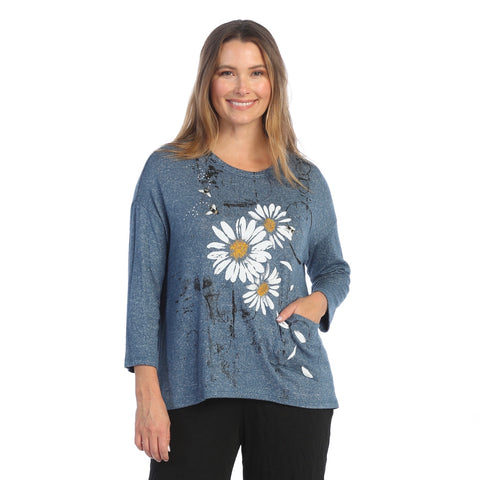 "Jess & Jane ""Together"" Soft Knit Tunic Top - GB1-1557"