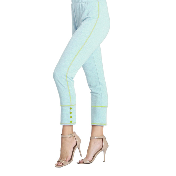 IC Collection Soft Knit Pull-On Pants in Sky Blue - 3714P-BLU