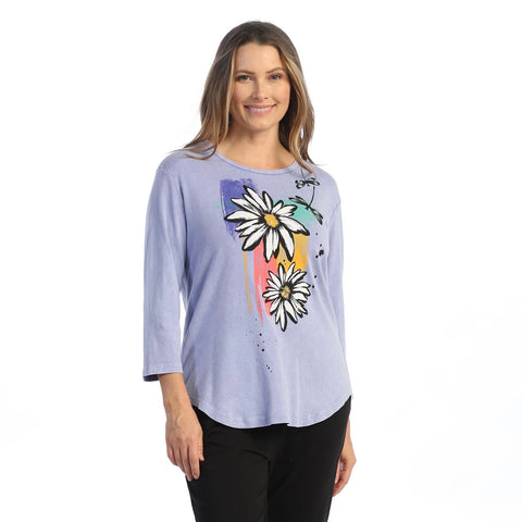 "Jess & Jane ""Twins"" Mineral Washed Top - M80-1581"