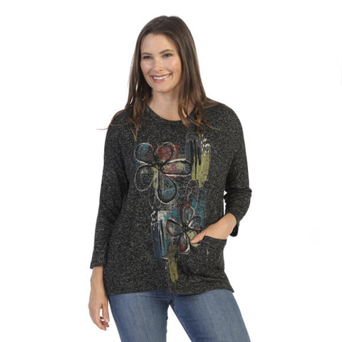 "Jess & Jane ""Santa Monica"" Soft Knit Tunic Top - GB1-1531"