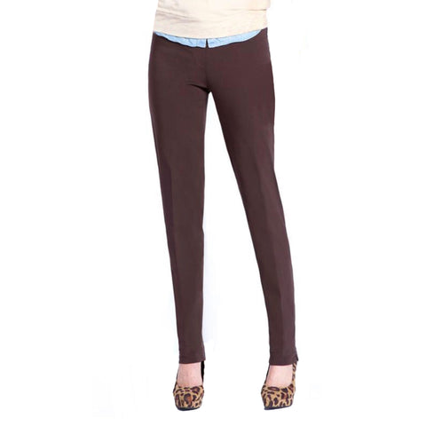 Slimsation Narrow Pant in Chocolate - M2604P-CHO