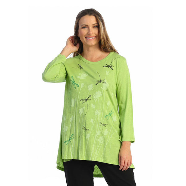"Jess & Jane ""Fly Time"" Mineral Washed Cotton Tunic - M46-1587"