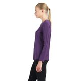 Clara Sunwoo Basic Scoop Neck Top in Plum - T28-PLM - Size L Only