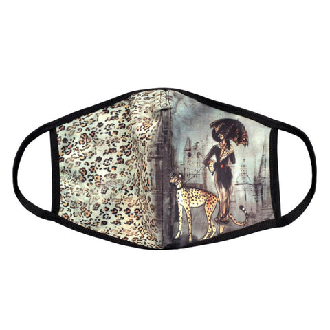 "Valentina Signa Designer Mask ""Cat Walk"" - 5859"