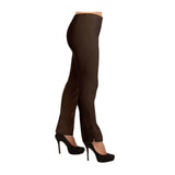 "Lior Paris ""Lize"" Straight Leg Pull-On Pant in Brown -LIZE-BRN"