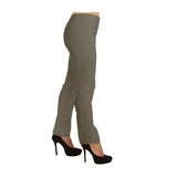 "Lior Paris ""Lize"" Straight Leg Pull-On Pant in Taupe - LIZE-TAU - Limited Sizes"