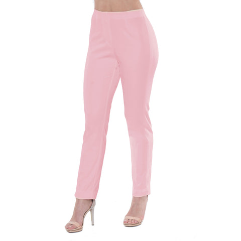 "Lior Paris ""Sasha"" 28""Straight Leg Pant in Pink Lemonade Denim"