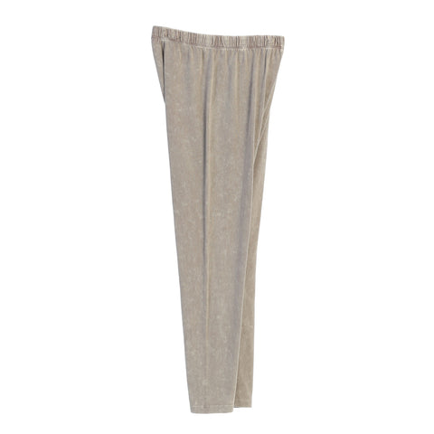 Jess & Jane Mineral Washed Cotton Legging Pants - M31-TPE