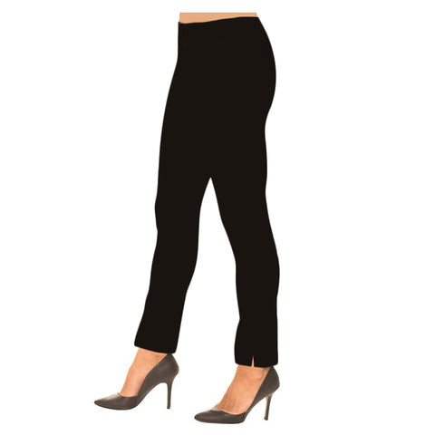 "Lior Paris ""Sasha"" Straight Leg Pull-On Pant in Black - SASH-BLK"