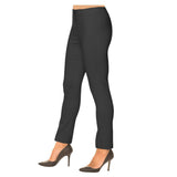 "Lior Paris ""Sasha"" Straight Leg Pull-On Pant in Charcoal - SASH-CHAR"