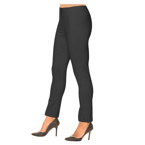 "Lior Paris ""Sasha"" 28"" Straight Leg Pant in Charcoal"