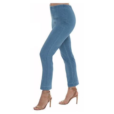 "Lior Paris ""Sasha"" Pant in Vintage Denim Blue - Sash-VIND"