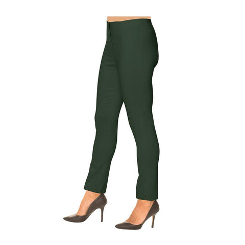 "Lior Paris ""Sasha"" Straight Leg Pull-On Pant in Olive - SASH-OLV"