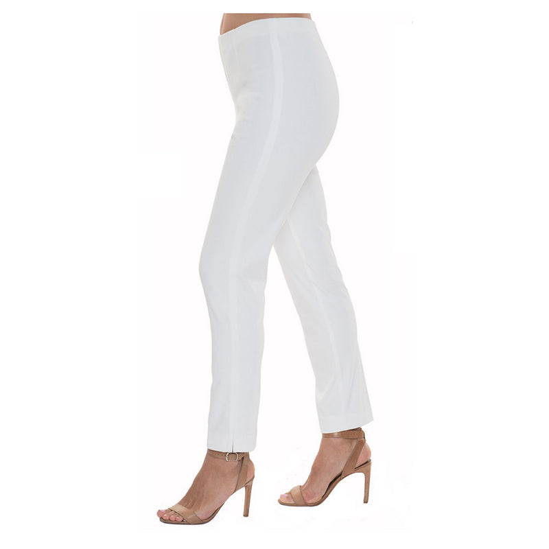 "Lior Paris ""Sasha""  Straight Leg Pant in Denim Off-White - SASH-WHTD"