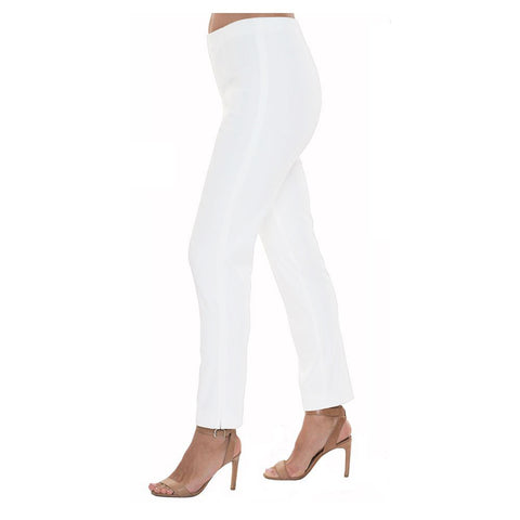"Lior Paris ""Sasha"" Straight Leg Pant in Brilliant White Denim - SASH-BWT"
