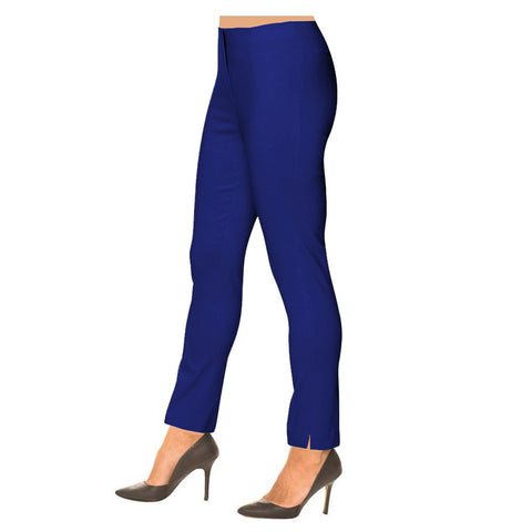 "Lior Paris ""Sasha"" Straight Leg Pull-On Pant in in Royal - SASH-ROYAL"