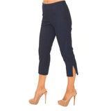 "Lior Paris ""Sidney"" Dark Denim Blue Capri - Sidney-DDN"