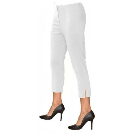 "Lior Paris ""Sidney"" Capri in White - Sidney-WT"