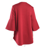 Lior Textured High-Low Swing Jacket in Red ♥ Vince-116-RD - Size S Only