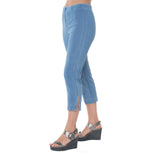 The Sidney Vintage Denim Capri