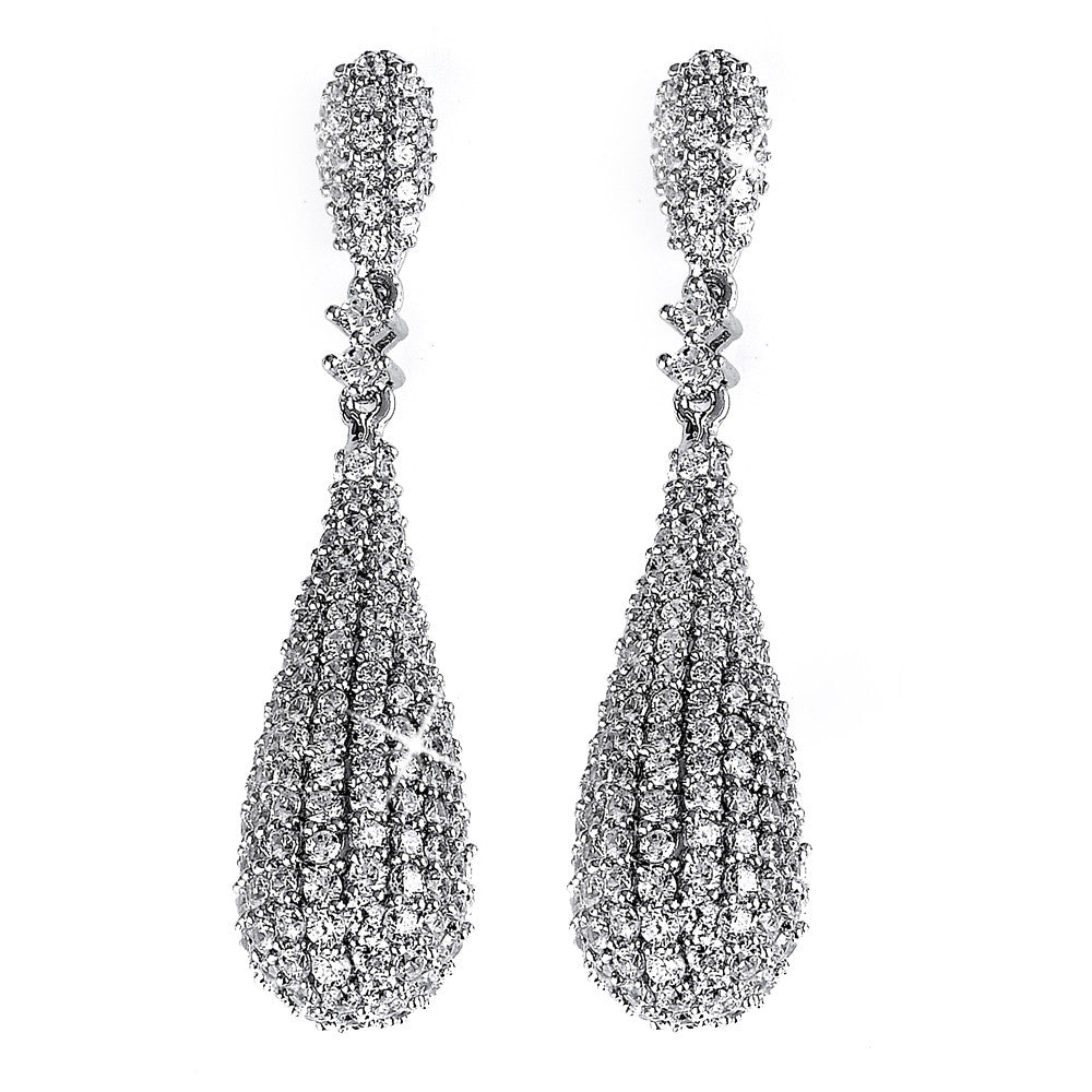 Ba-Ba-Bang Pavé Earrings