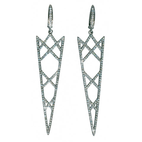 Daring Diamond Earrings