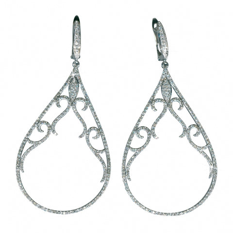 Queen for a Day Diamond Earrings