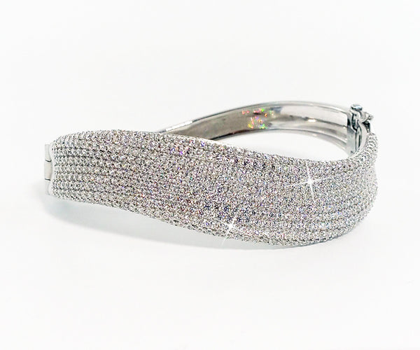 Captivating Curved Cuff Bracelet