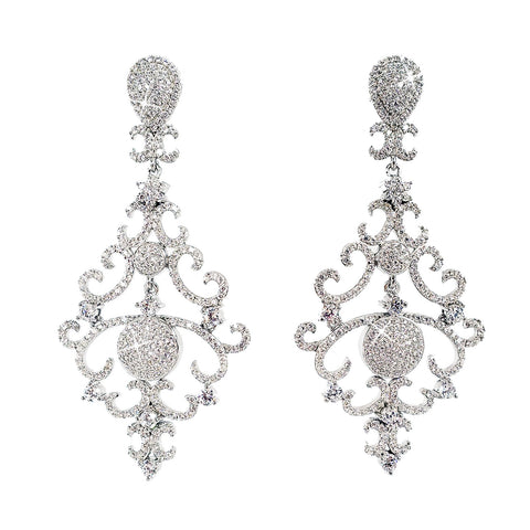 Victoria's Chandelier Earrings