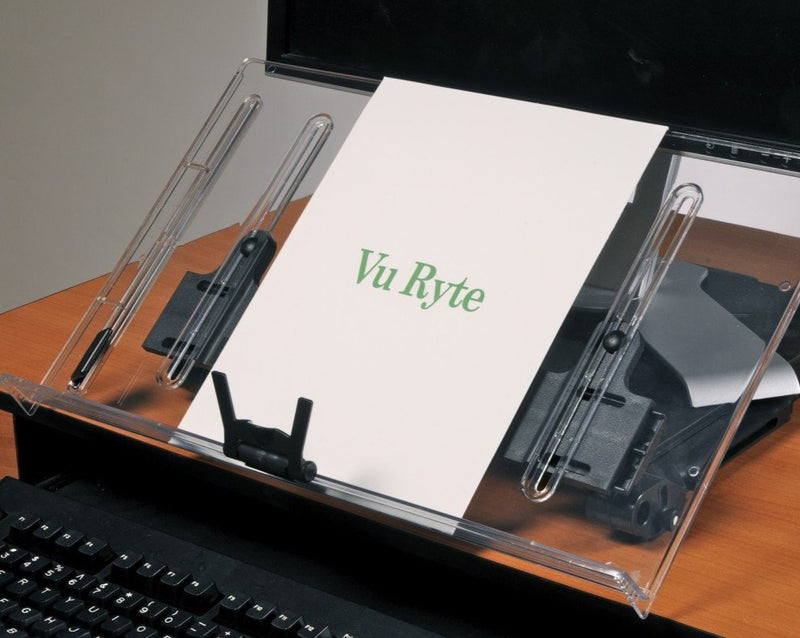 VuRyte Inline Document Holder with Monitor Riser 18''  VUR 18KB