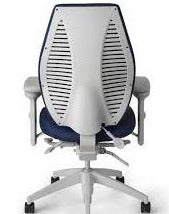 ErgoCentric airCentric2 Multi Tilt Ergonomic Chair - Light Grey Frame