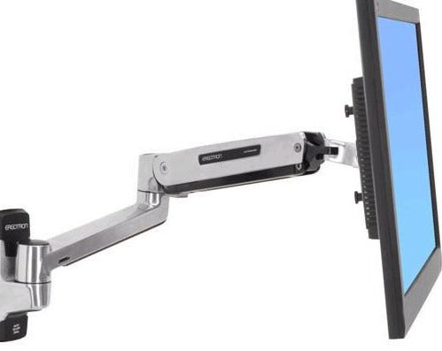 Ergotron LX Sit-Stand Wall Mount Monitor Arm