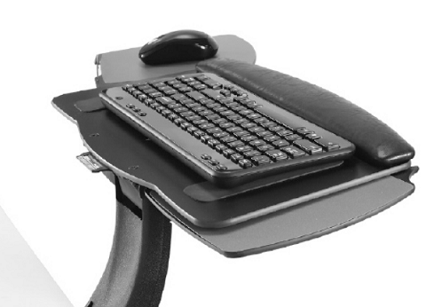 ISE Leader 1 Arm and Keyboard Tray