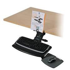 ISE Leader 2 Arm and Keyboard Tray
