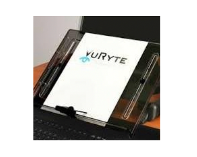 "VuRyte Document Holder 14 ''- w/ 1"" Monitor Riser VUR 14KB"