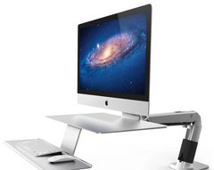 Ergotron Workfit-A Sit-Stand Workstation for Apple - with VESA Mount