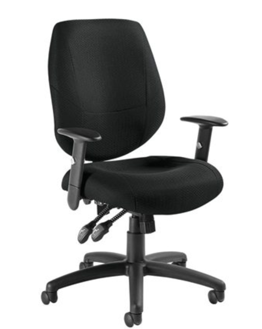 airCentric™ 2 Multi-tilt HOME OFFICE PROMOTION Ergonomic Chair WITH 3ATAOT ARM RESTS-
