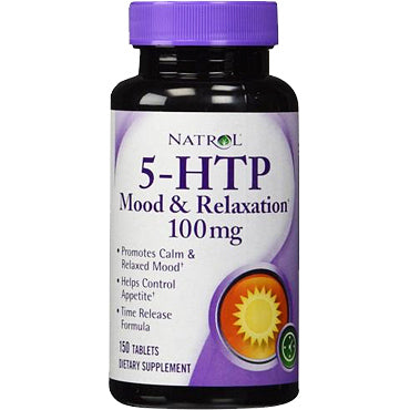 5-HTP Mood & Relaxation 100 mg - 150 capsules de Natrol