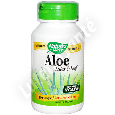 Laxatif Naturel à l'Aloe Vera - 100 Capsules de Nature's Way