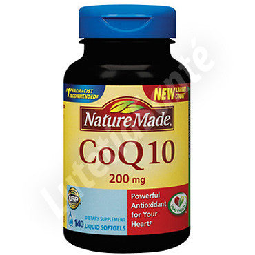 Coenzyme Q10 200 mg - 140 gélules de Nature Made